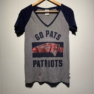 """""""GO PATS"""" PINK Tee"""